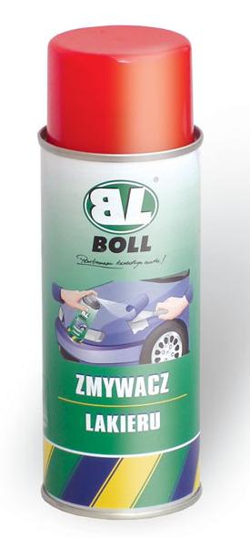 BOLL Zmywacz Lakieru 400ml Spray Powłok Preparat Zmywania Środek