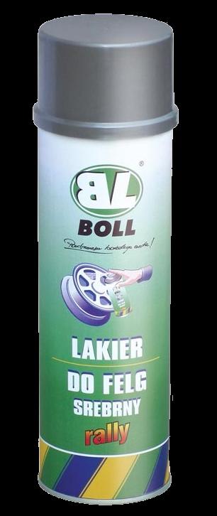 BOLL Lakier Felg SREBRNY 0,5L SPRAY kół samochodowych
