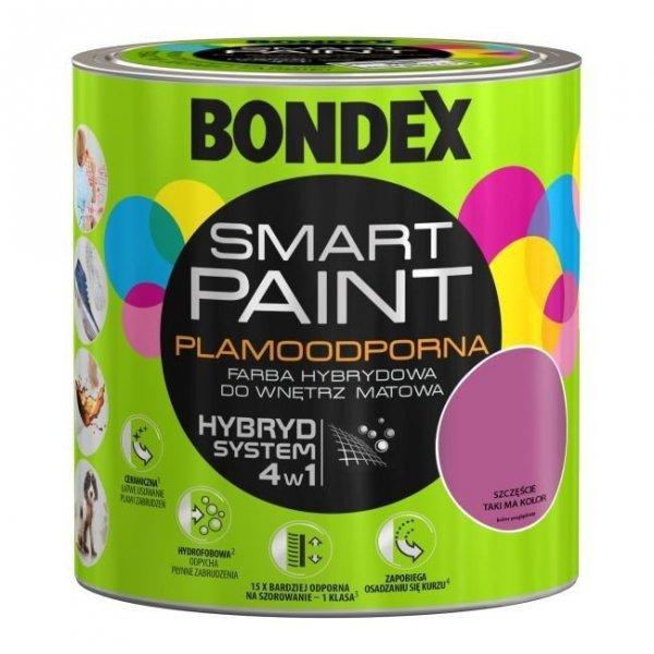 Bondex Smart Paint 2,5L SZCZĘŚCIE TAKI MA KOLOR