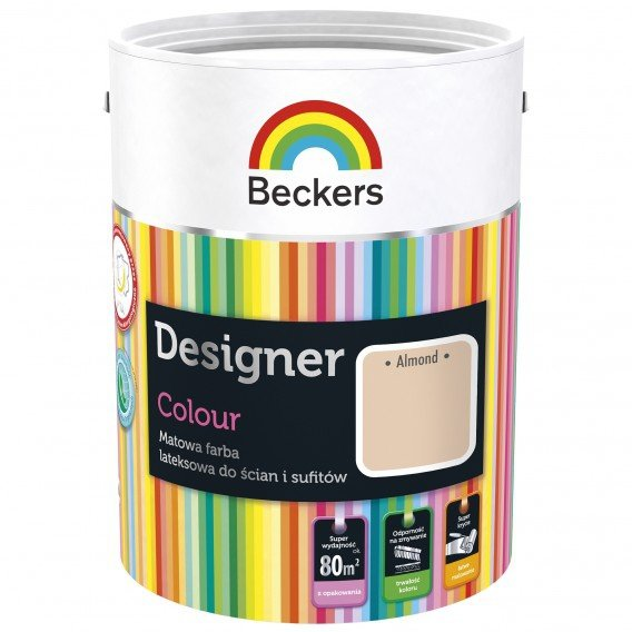 Beckers 2,5L ALMOND Designer Colour farba lateksowa