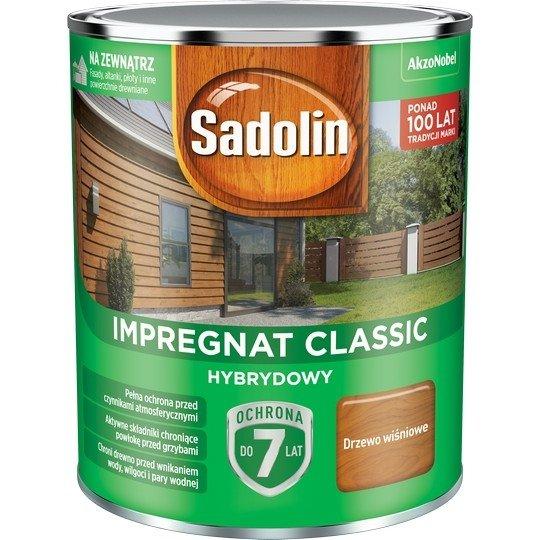 Sadolin Classic impregnat 0,75L DRZEWO WIŚNIOWE 88 drewna clasic
