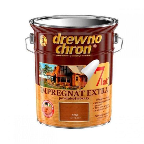 Drewnochron CEDR 4,5L Impregnat Extra drewna do powłokotwórczy