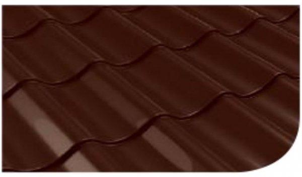 Śnieżka na dach farba Brązowy ciemny 0,75L RAL 8017