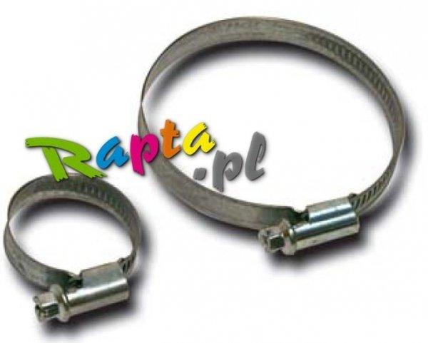 Opaska obejma ślimakowa metalowa skręcana zacisk 8-12 mm; 10-16mm; 12-22mm; 16-27mm; 20-32mm