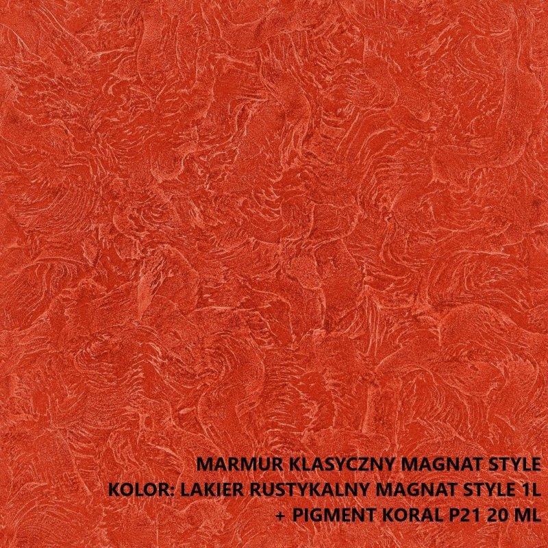 MAGNAT STYLE Marmur Klasyczny 15kg tynk dekoracyjny