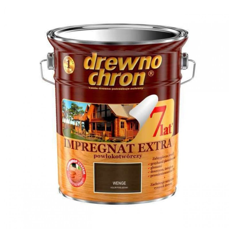 Drewnochron WENGE 4,5L Impregnat Extra drewna do powłokotwórczy