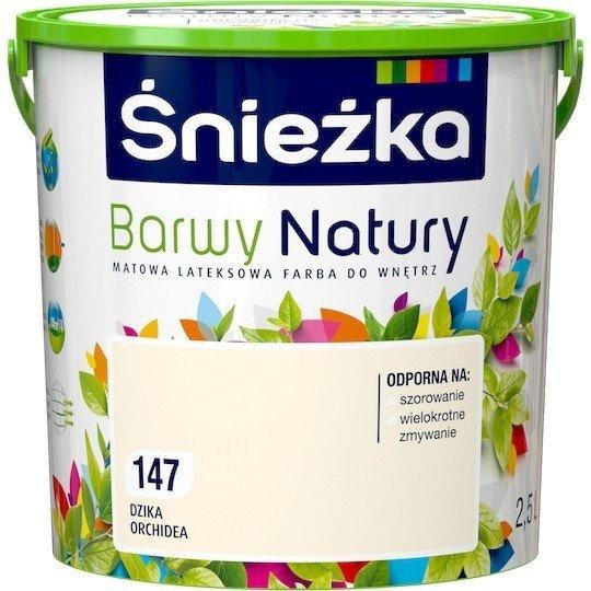 Śnieżka Barwy Natury 2,5L Dzika Orchidea 147 Farba