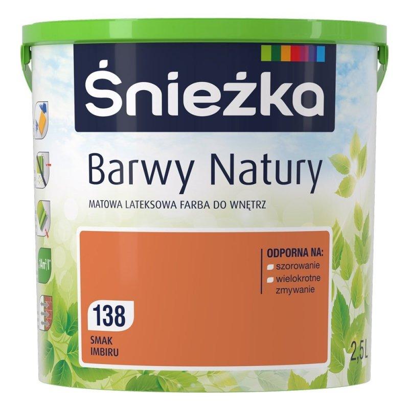 Śnieżka Barwy Natury 2,5L Smak Imbiru 138 Farba