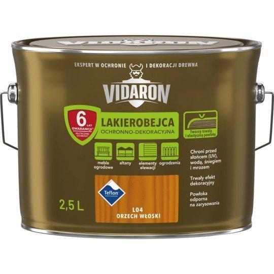 Vidaron Lakierobejca 2,5L L04 Orzech Włoski do drewna