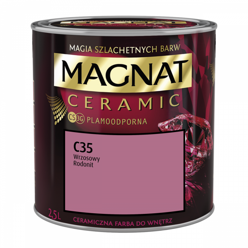 MAGNAT Ceramic 2,5L C35 Wrzosowy Rodonit