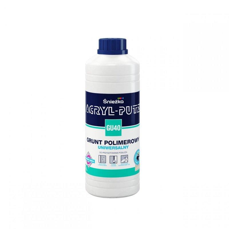 Acryl-Putz Grunt Polimerowy Uniwersalny 1L GU40 mleczko unigrunt