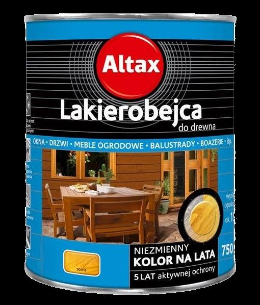 Altax Lakierobejca Drewna 0,75L SOSNA niebieska