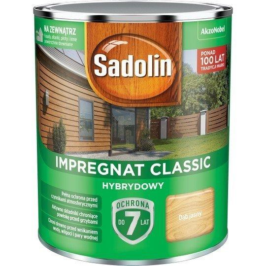 Sadolin Classic impregnat 0,75L DĄB JASNY 57 drewna clasic