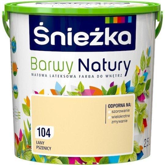 Śnieżka Barwy Natury 2,5L Łany Pszenicy 104 Farba