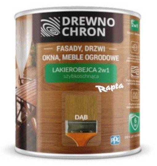 Drewnochron 2w1 Lakierobejca DĄB 2,5L drewna do