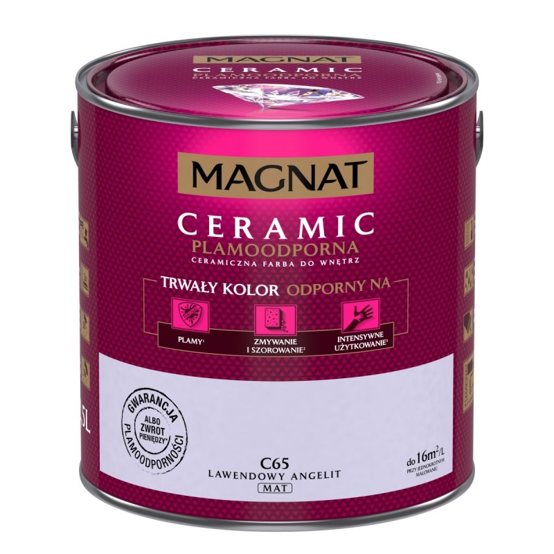 MAGNAT Ceramic 2,5L C65 Lawendowy Angelit