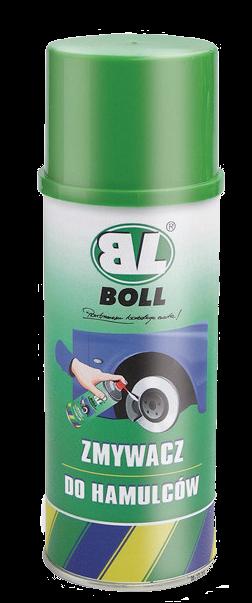 BOLL Zmywacz Hamulców Odtłuszczacz 400ml Spray Środek Preparat