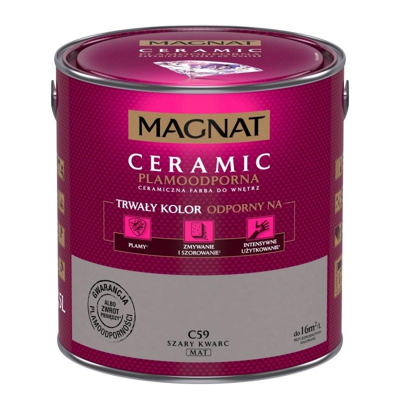 MAGNAT Ceramic 2,5L C59 Szary Kwarc