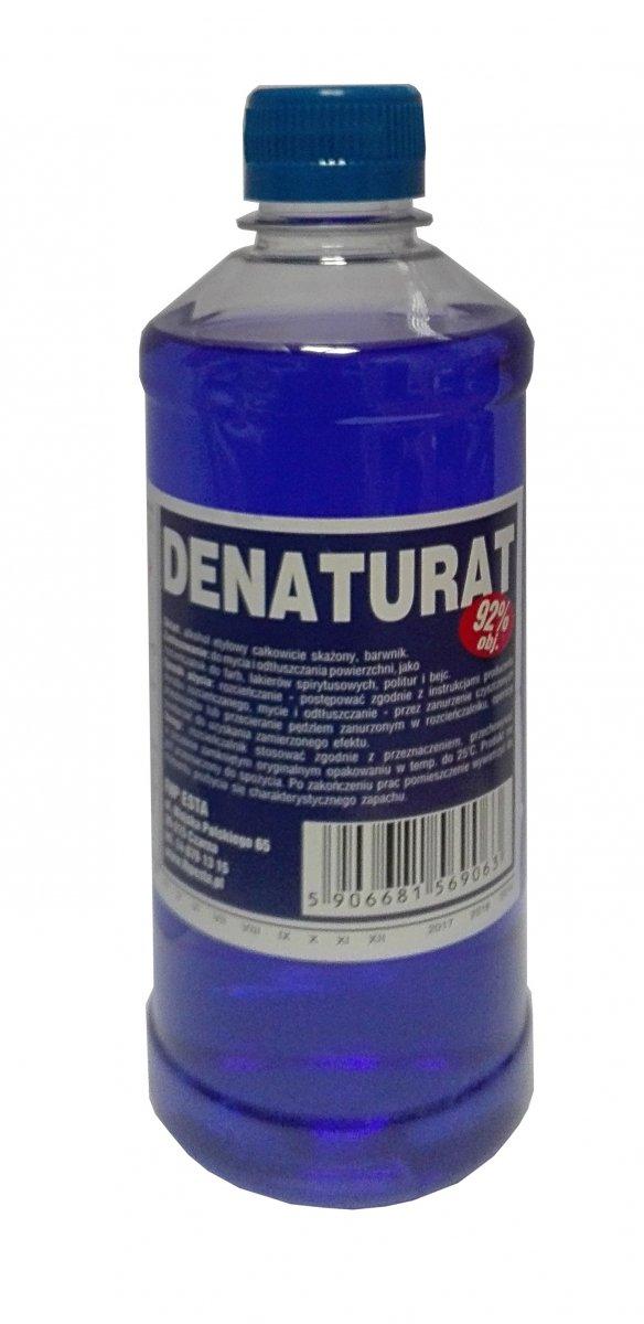 Denaturat 0,5L FIOLETOWY mocny etylowy 92% etanol