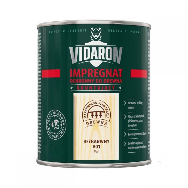 Vidaron Impregnat 2,5L V01 Bezbarwny Gruntujący Podkład Grunt