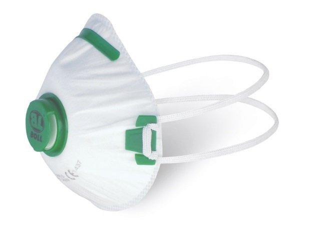BOLL Pół-maska Przeciwpyłowa z Zaworem FFP1 ochronna