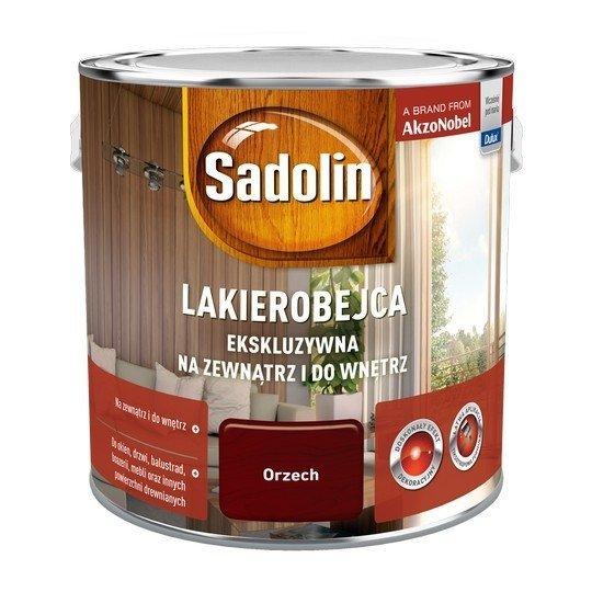 Sadolin Ekskluzywna lakierobejca 2,5L ORZECH drewna