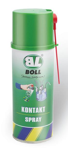 BOLL Kontakt Spray 400ml Połączeń Elektrycznych Styków