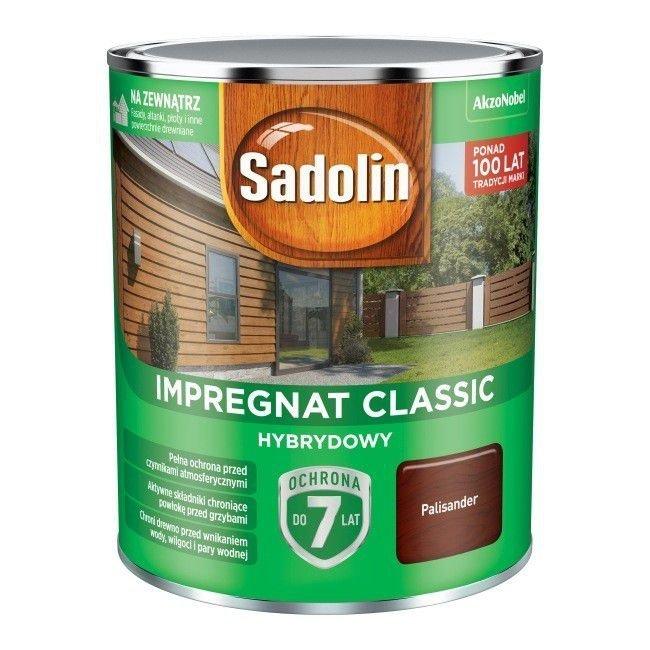 Sadolin Classic impregnat 0,75L PALISANDER 9 drewna clasic