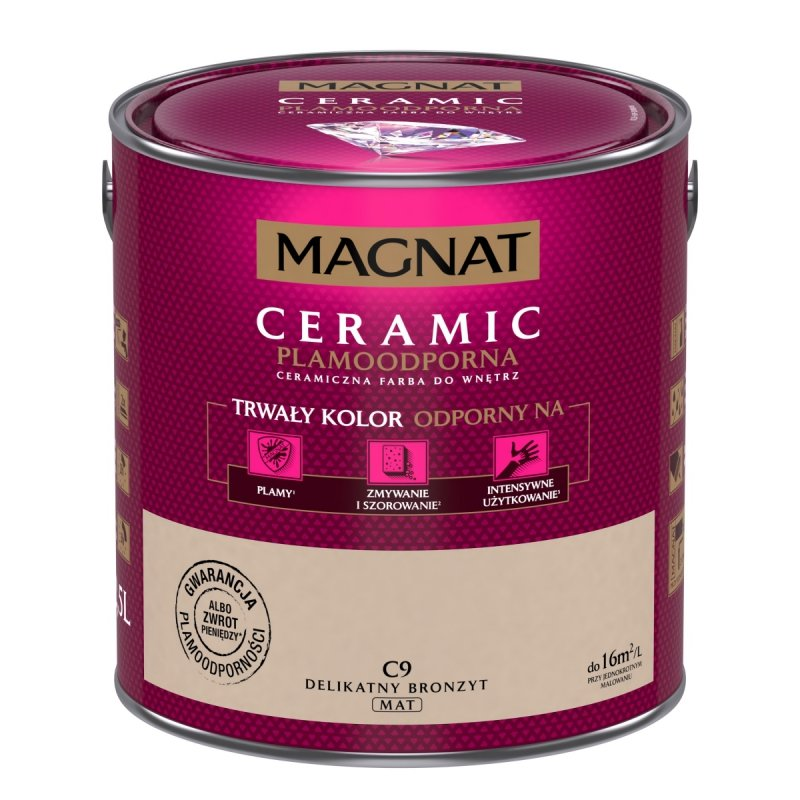 MAGNAT Ceramic 2,5L C 9 Delikatny Bronzyt