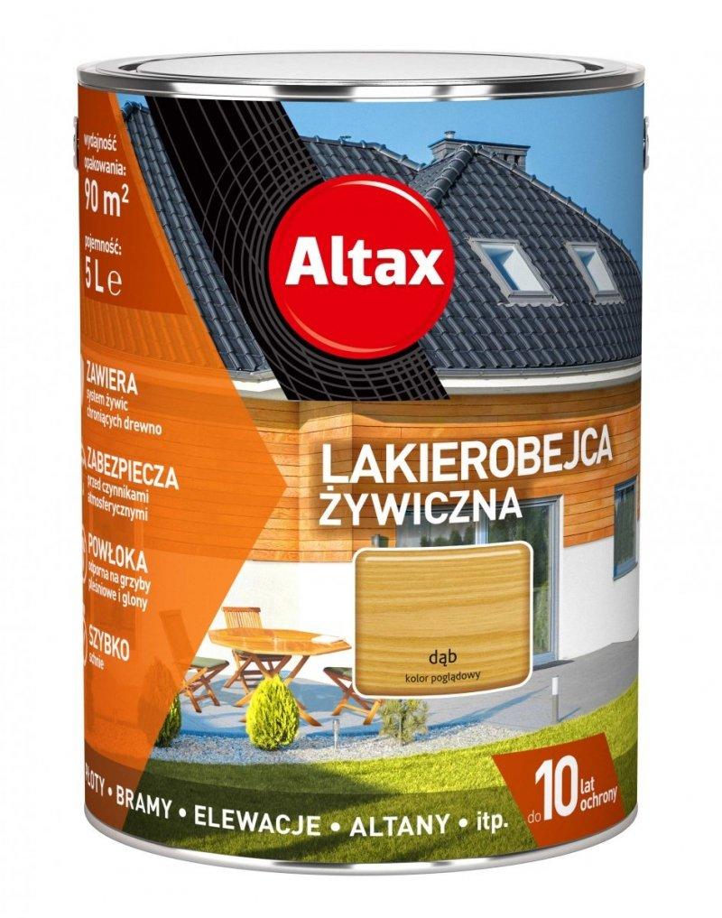 Altax Lakierobejca 5L DĄB Żywiczna Drewna Szybkoschnąca
