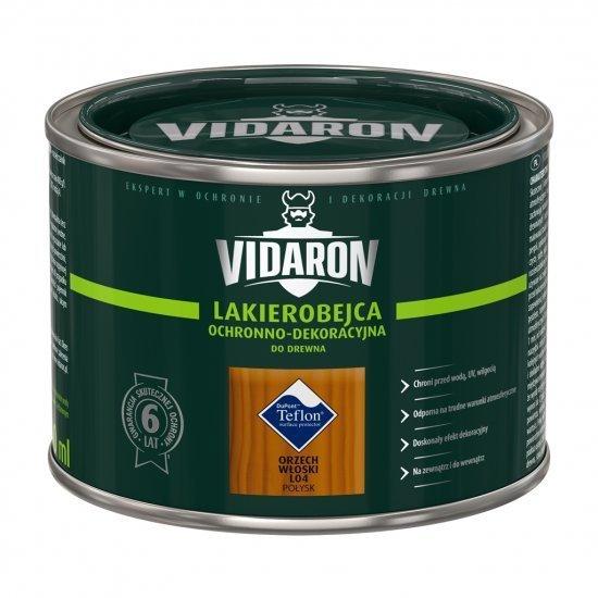 Vidaron Lakierobejca 0,4L L04 Orzech Włoski do drewna