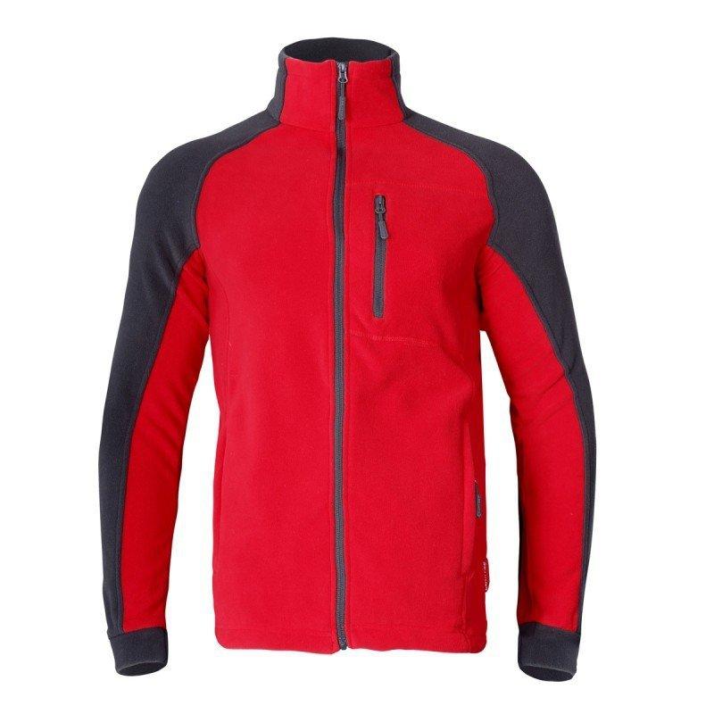 LAHTI PRO Bluza robocza ochronna L polar czerwono-szara