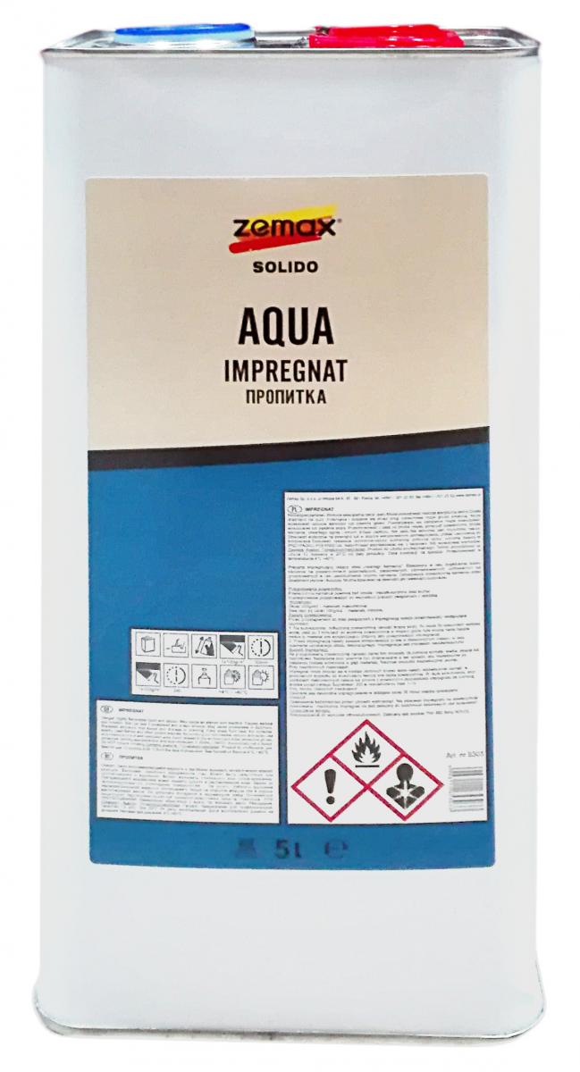 Solido Aqua Impregnat 5L mokry kamień zemax Zestaw