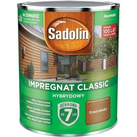 Sadolin Classic impregnat 0,75L ORZECH WŁOSKI 4 drewna clasic