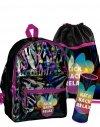 Plecak dla Dziewczynki Holograficzny Szkolny Myszka Minnie Zestaw [DMLS-770]