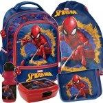 Plecak do Szkoły Spiderman Zestaw dla Chłopaka [SPU-260]