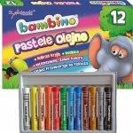 Pastele Olejne Bambino 12 Kolorów Kredki dla Dzieci [003110]