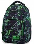 Plecak CP CoolPack Szkolny Młodzieżowy Vance Electric Green [B37099]