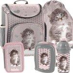 Tornister Szkolny dla Małej Dziewczynki z Kotkiem Kotem [RLD-524]