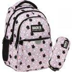 Plecak Backup dla Dziewczyny Szkolny w Kotki Koty Różowy [PLB3P35]