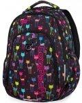 Plecak Młodzieżowy Coolpack Cp Cats Dziewczęcy USB [B18046]