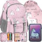 Nowoczesny Plecak Jednorożec dla Dziewczyny Szkolny [PP19UN-810]