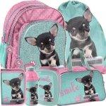 Plecak Szkolny Chihuahua w Pieski dla Dziewczyny Zestaw [PTE-090]