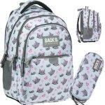 Młodzieżowy Plecak Kotki i Myszki Szkolny dla Dziewczyny [PLB3P33]