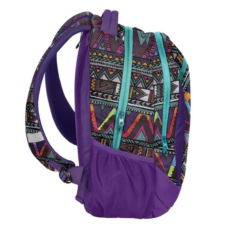 bdf9b8ce00e15 Plecak Młodzieżowy Szkolny Zestaw dla Dziewczyny Aztecki Wzór [18-2808CP]