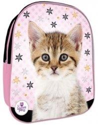 Plecak 3D Plecaczek z Kotem dla Przedszkolaka na Wycieczki [607099]