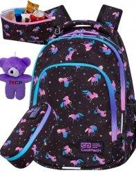 Coolpack Cp Młodzieżowy Plecak Jednorożec dla Dziewczyny DARK UNICORN [C25234]