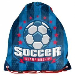 Worek na Buty Obuwie Piłka Nożna dla Chłopaka Niebieski