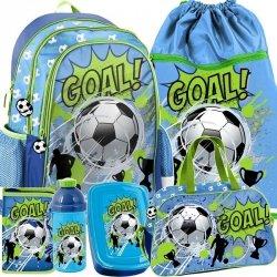 Plecak Piłka Nożna Szkolny Zestaw dla Chłopaka [PP19PI-081]