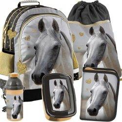 Plecak w Konie dla Dziewczynki Szkolny Zestaw [PP19H-116]